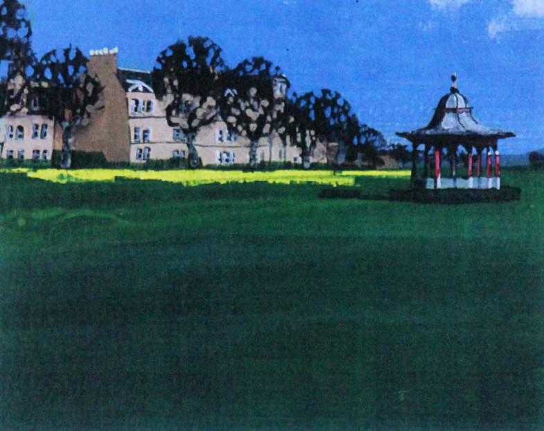 Stephen French_Bandstand, Magdalen Green_Signed Limited Edition_5.5x8