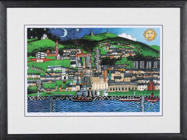 Stephen French_City of Discovery14.5x19_Framed Print