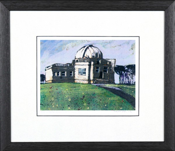 Stephen French_Mills Observatory_9.5x13.5_Framed Print