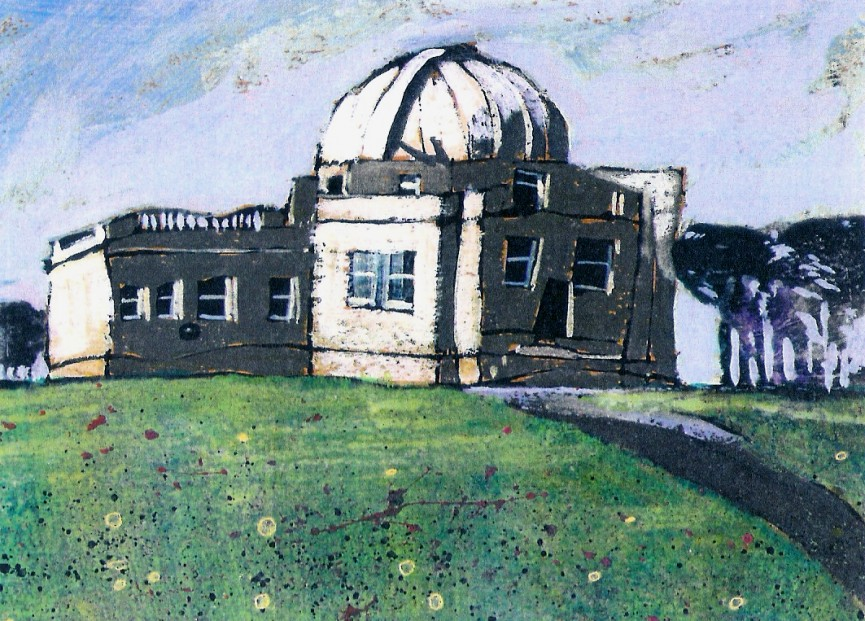 Stephen French_Mills Observatory_Signed Limited Edition_4.5x8.5
