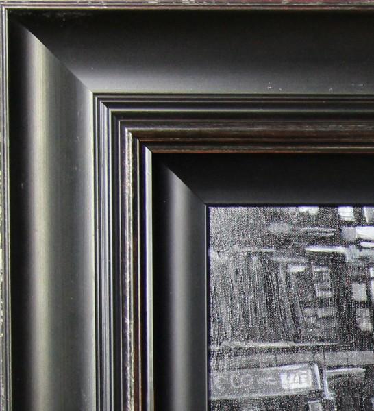Ben Wainwright_New York Rush Hour_Oils_22x28.5_Framed