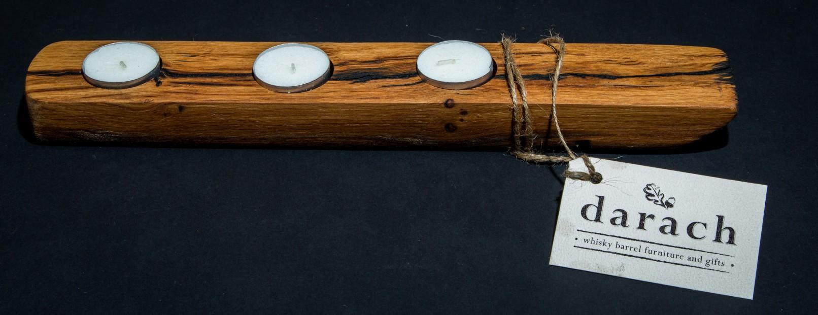 Darach candle holder_3 tealights