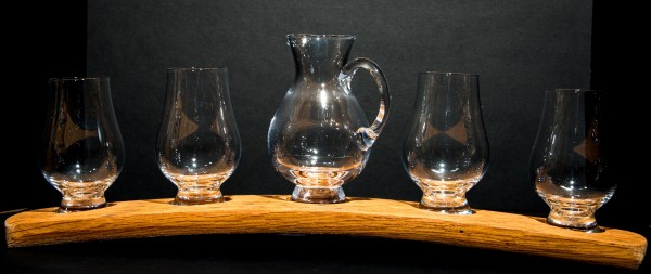 Darach whisky set_4 Glasses & Jug
