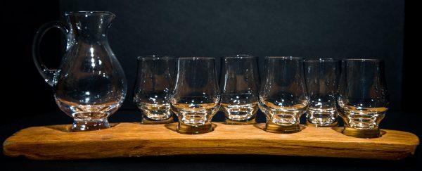 Darach whisky set_6 Glasses & Jug_V2