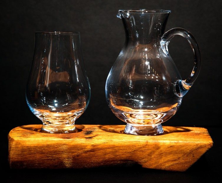 Darach whisky set_Glass & Jug