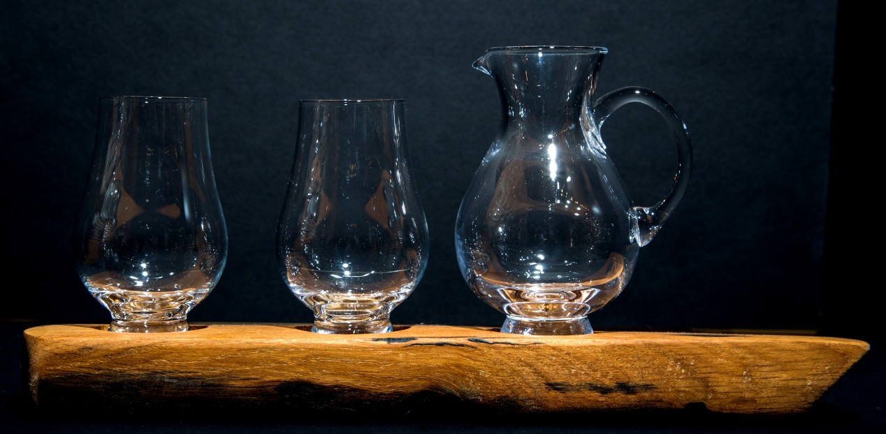 Darach whisky set_Two Glasses & Jug