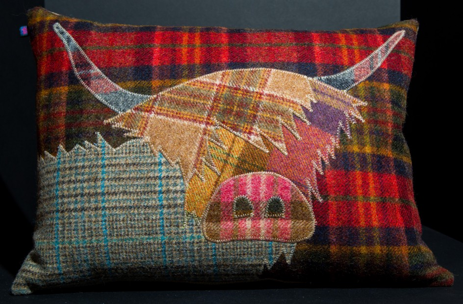 28+ [ Handmade Highland Cow Cushion ] | Handmade Highland ...