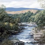 Ian Johnstone_The Dee near Braemar_Oils_9x7