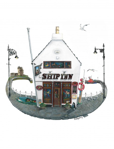 Nicola Kleppang_The Ship, Broughty Ferry_10x9
