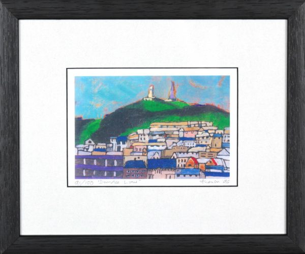 Stephen French_Dundee Law_9.5x11.5_Framed Print