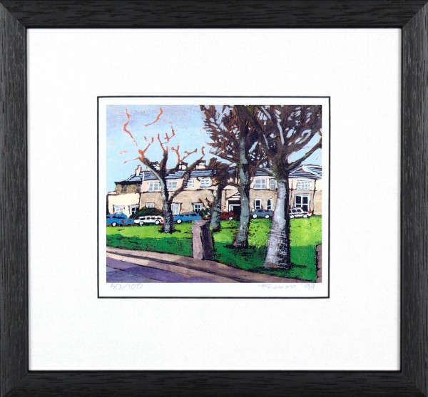 Stephen French_Dundee Uni, Perth Rd_10x10_Framed Print