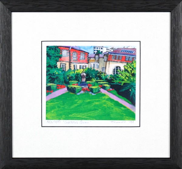 Stephen French_Geddes Quadrangle_10.5x11_Framed Print