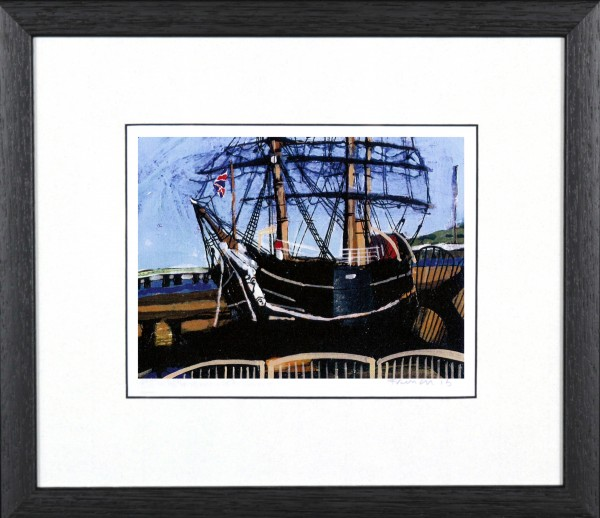 Stephen French_RSS Discovery_9x11_Framed Print
