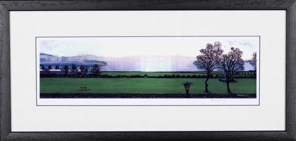 Stephen French_Riverside Drive_10x20_Framed Print