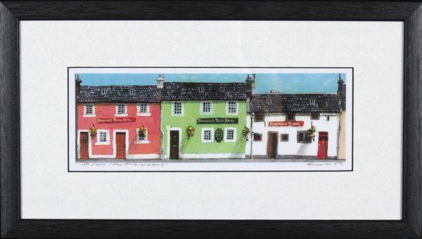 Stephen French_The Fishermans_9x16_framed Print