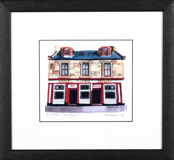 Stephen French_The Fort_10x11_Framed Print