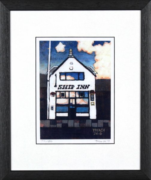 Stephen French_The Ship_12.5x10_framed Print copy