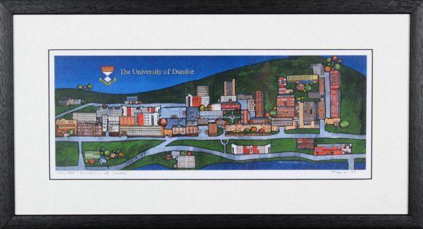 Stephen French_University of Dundee_11.5x21_framed Print