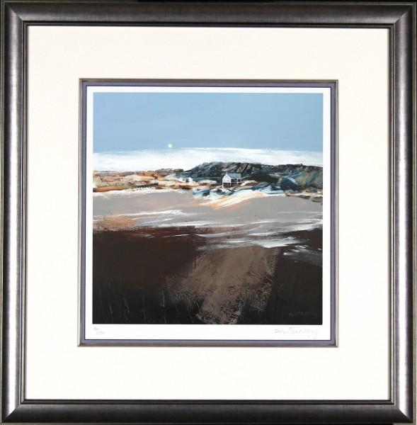 Dugald Findlay_Beach House_22x21_Framed Print