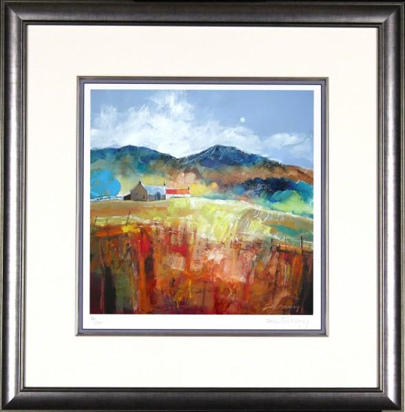 Dugald Findlay_Hill Farm_22x21_Framed Print