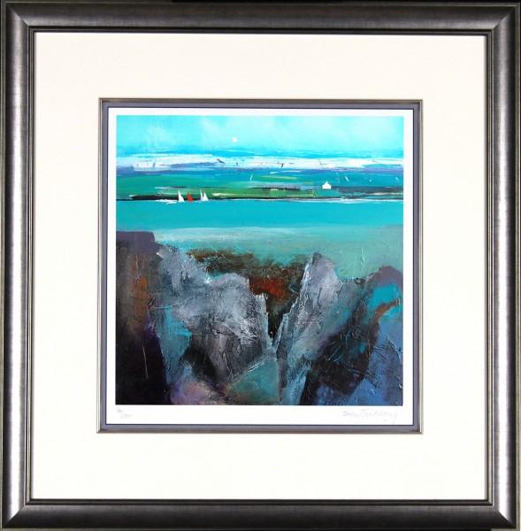 Dugald Findlay_Spring Sails_22x21_Framed Print