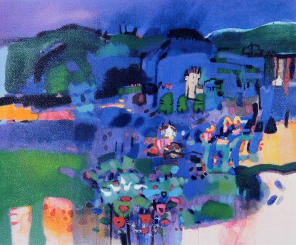 Francis Boag_The Blue Glen_Silkscreen_557x610