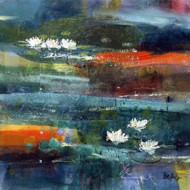 Francis Boag_Waterlillies II_405x405