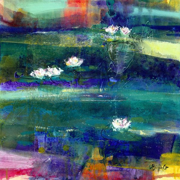 Francis Boag_Waterlillies I_405x405