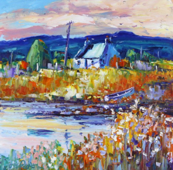 Jean Feeney, Summer, Tayside_Oils_16x16