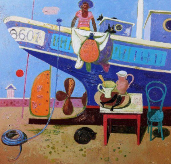 Leon Morrocco_Stern, Propellor & Rudder_330x340