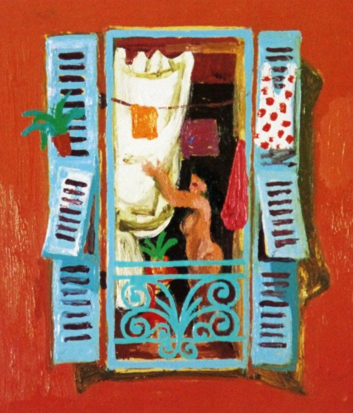 Leon Morrocco_Window, Nice_183x157