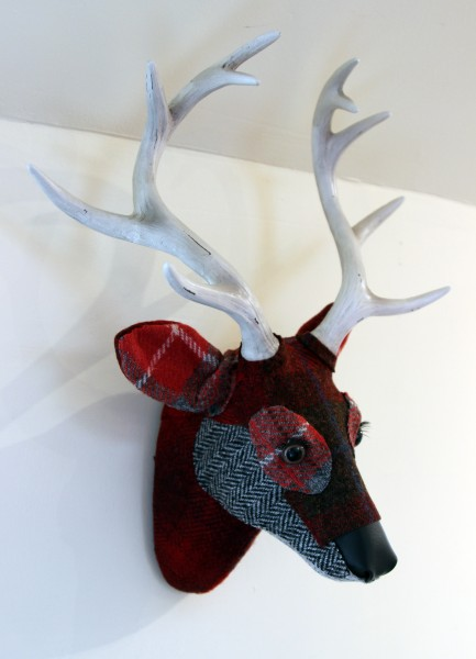 April Barrie_Textile Taxidermy_Monty_Side View II