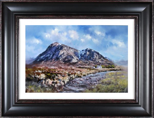 Allan Morgan_Buachaille Etive Mor,Glencoe (I)_Original Oils_27x35_Framed