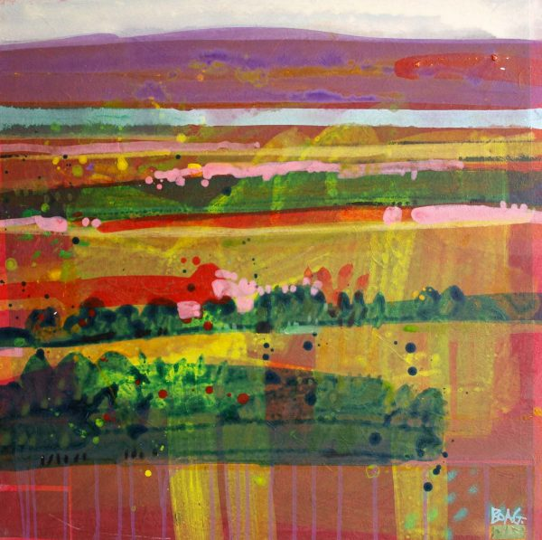 Francis Boag_Across The Carse_Mixed Media_24x24_90201