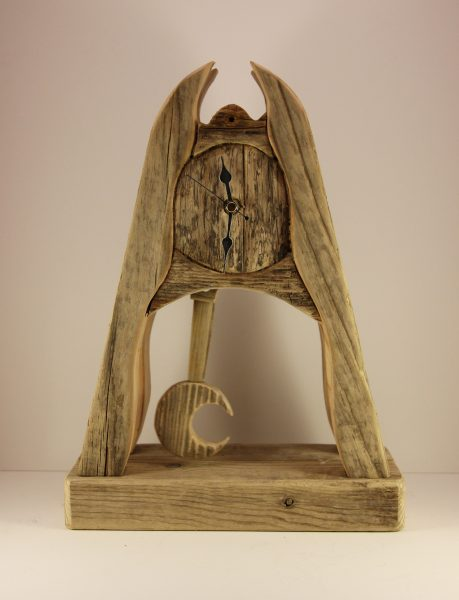 Garry Brown_Original_Reclaimed Wood_Moon Pendulum_175