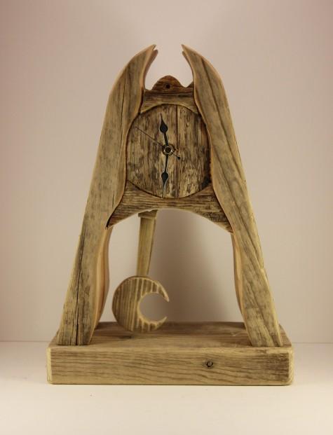 Garry Brown_Original_Reclaimed Wood_Moon Pendulum_175