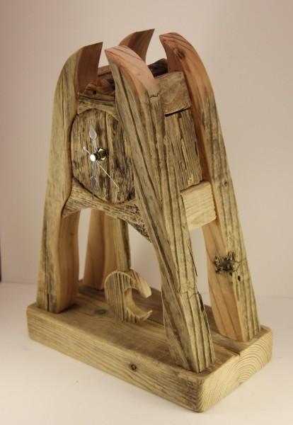 Garry Brown_Original_Reclaimed Wood_Moon Pendulum_Side view