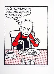 John Patrick Reynolds_Oor Wullie_It's Grand Tae be Born Lucky