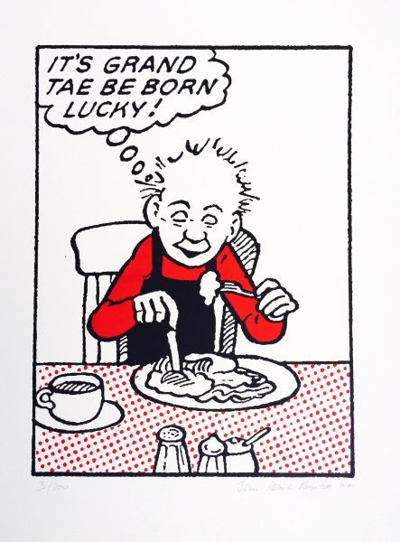 John Patrick Reynolds_Oor Wullie_It's Grand Tae be Born Lucky