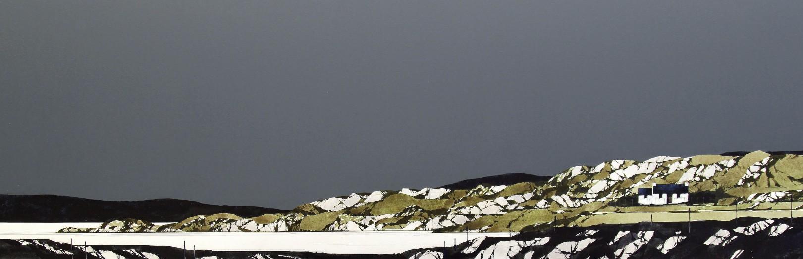 Ron Lawson_Fidden Bay, Mull II_EAS584_Watercolour & Gouache_13x38.5