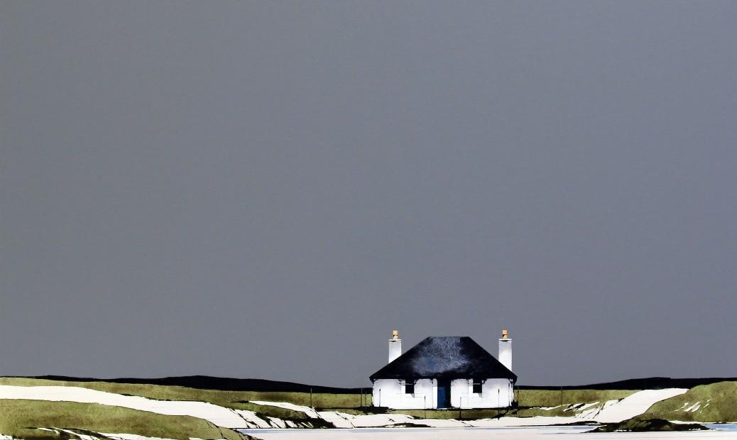 Ron Lawson_Fidden Beach, Mull_EAS590_Watercolour & Gouache_15.5x25