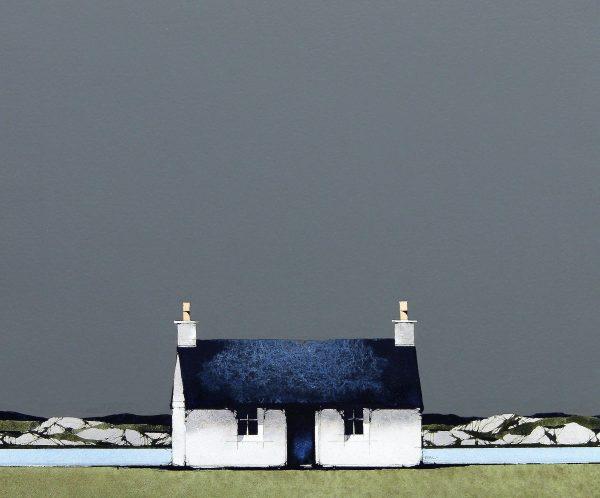 Ron Lawson_Fionnaphort, Mull I_EAS600_Watercolour & Gouache_10x10