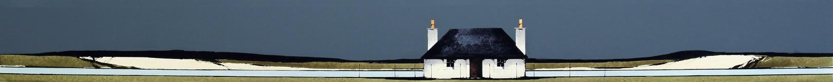 Ron Lawson_Island Cottage II_EAS606_Watercolour & Gouache_3.75x38.5