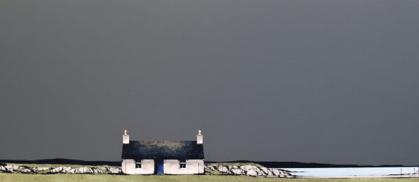 Ron Lawson_Loch Indaal, Islay_EAS580_Watercolour & Gouache_17x38.5