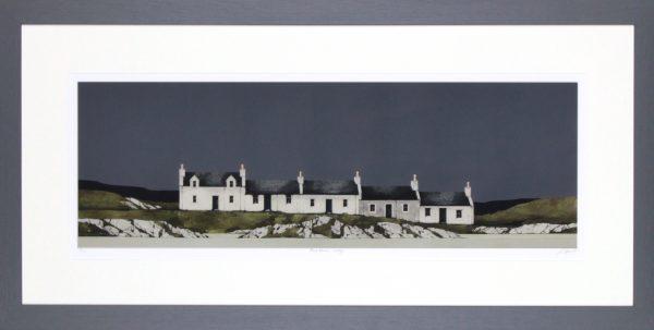 Ron Lawson_Port Ellan, Islay_20x40_Framed Print