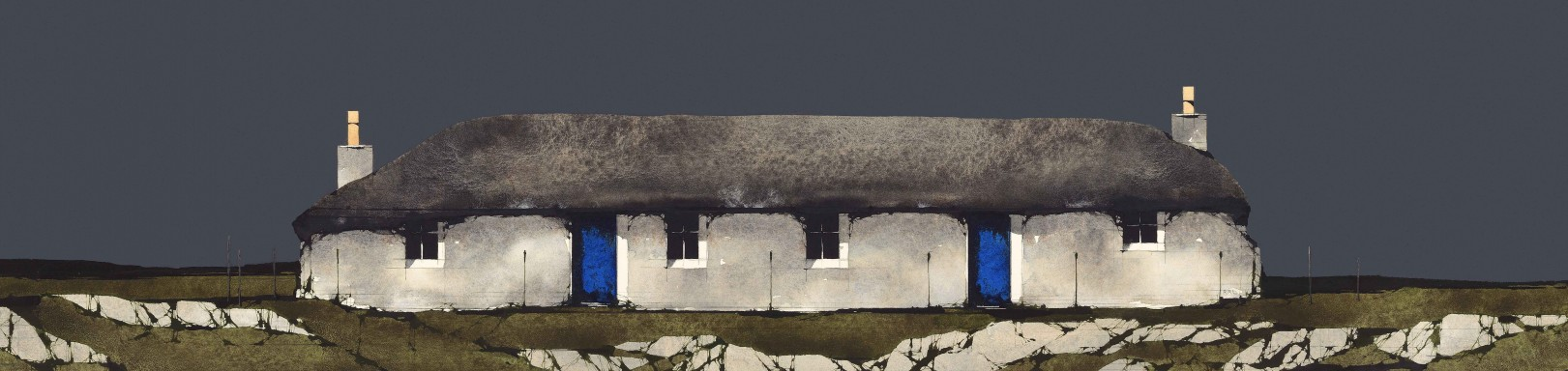 Ron Lawson_RL_Sheila's Cottage, Ulva_10x30