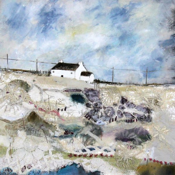 Louise O'Hara_Spring on its Way_Mixed Media_12x12