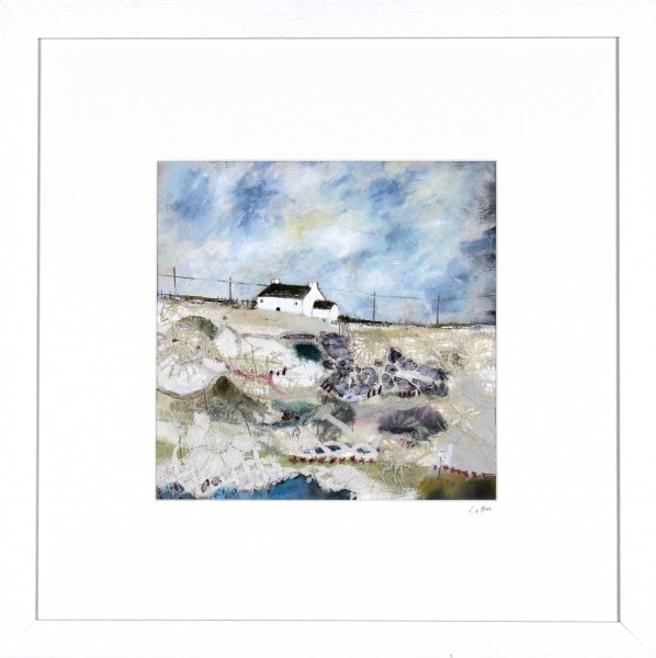 Louise O'Hara_Spring on its Way_Mixed Media_Framed