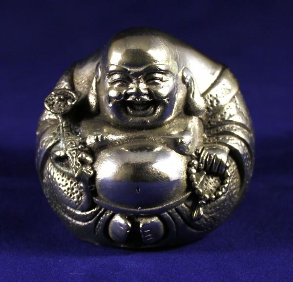 Lucky Tibetan Silver Buddha_Post 1940_2x2