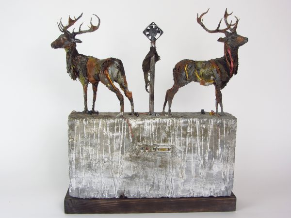 Mark Gibbs_Ritual Artefact- Northern Hemisphere 21st Century_Mixed Media